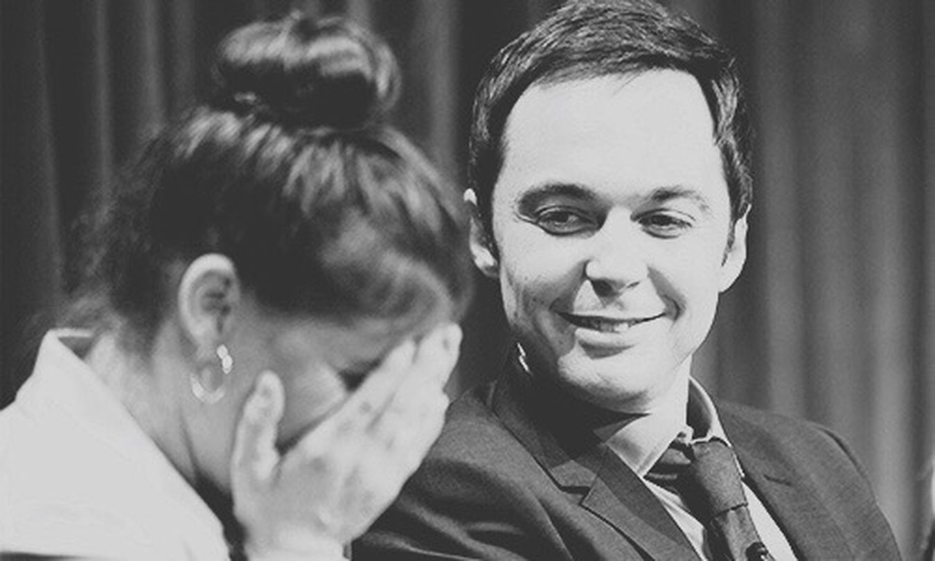 MaJim Mayim Bialik Jim Parsons Shamy The Big Bang Theory