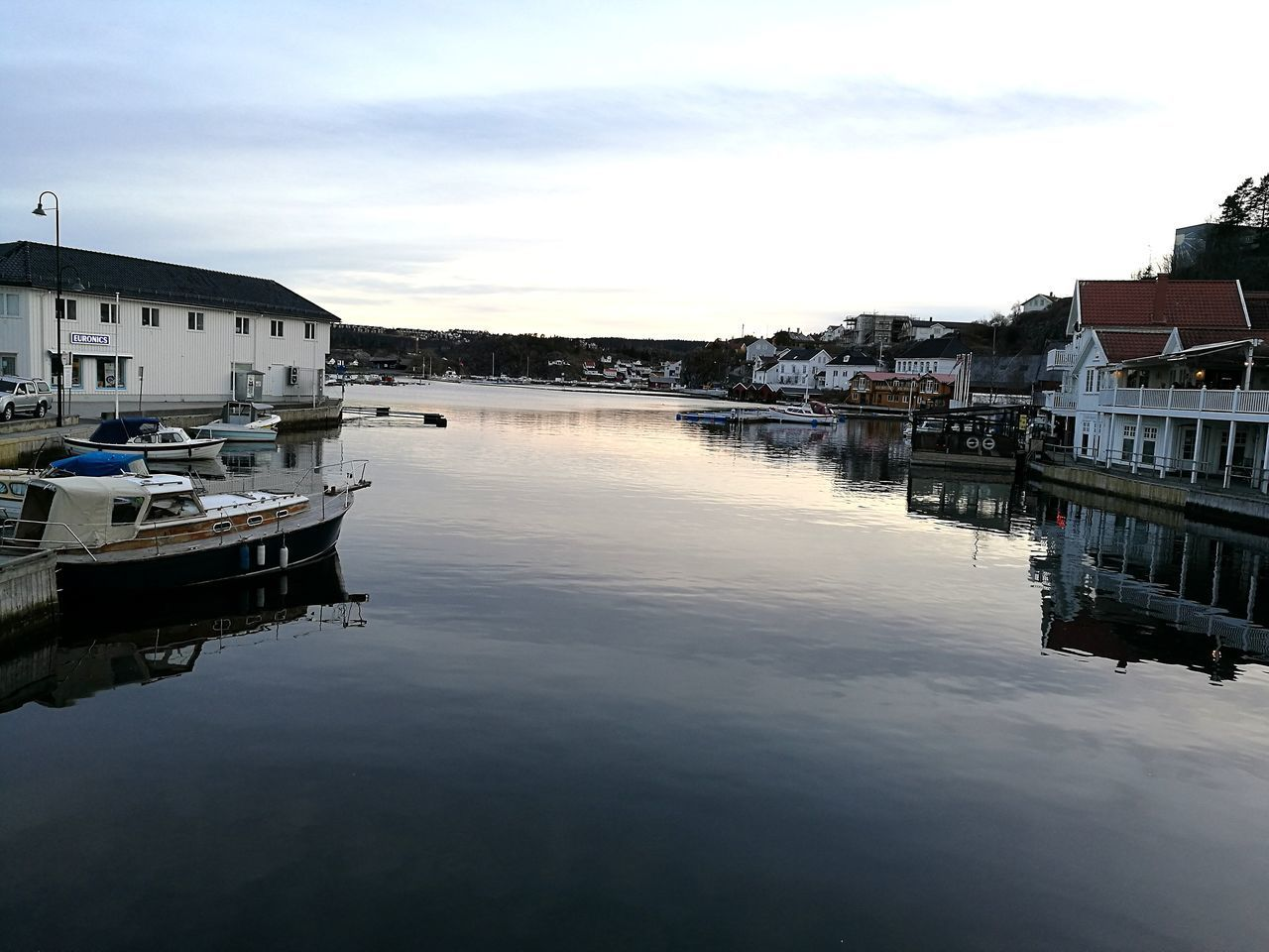 Reflection Water Architecture Moored Building Exterior Built Structure Sky Residential Building Transportation Harbor Outdoors Apartment Nautical Vessel No People Nature Nature Norway🇳🇴 Reflection Lake Cityscape Yacht Day Kragerø Kragerø♥