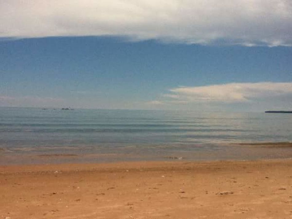 Lake Beach Warm Sand