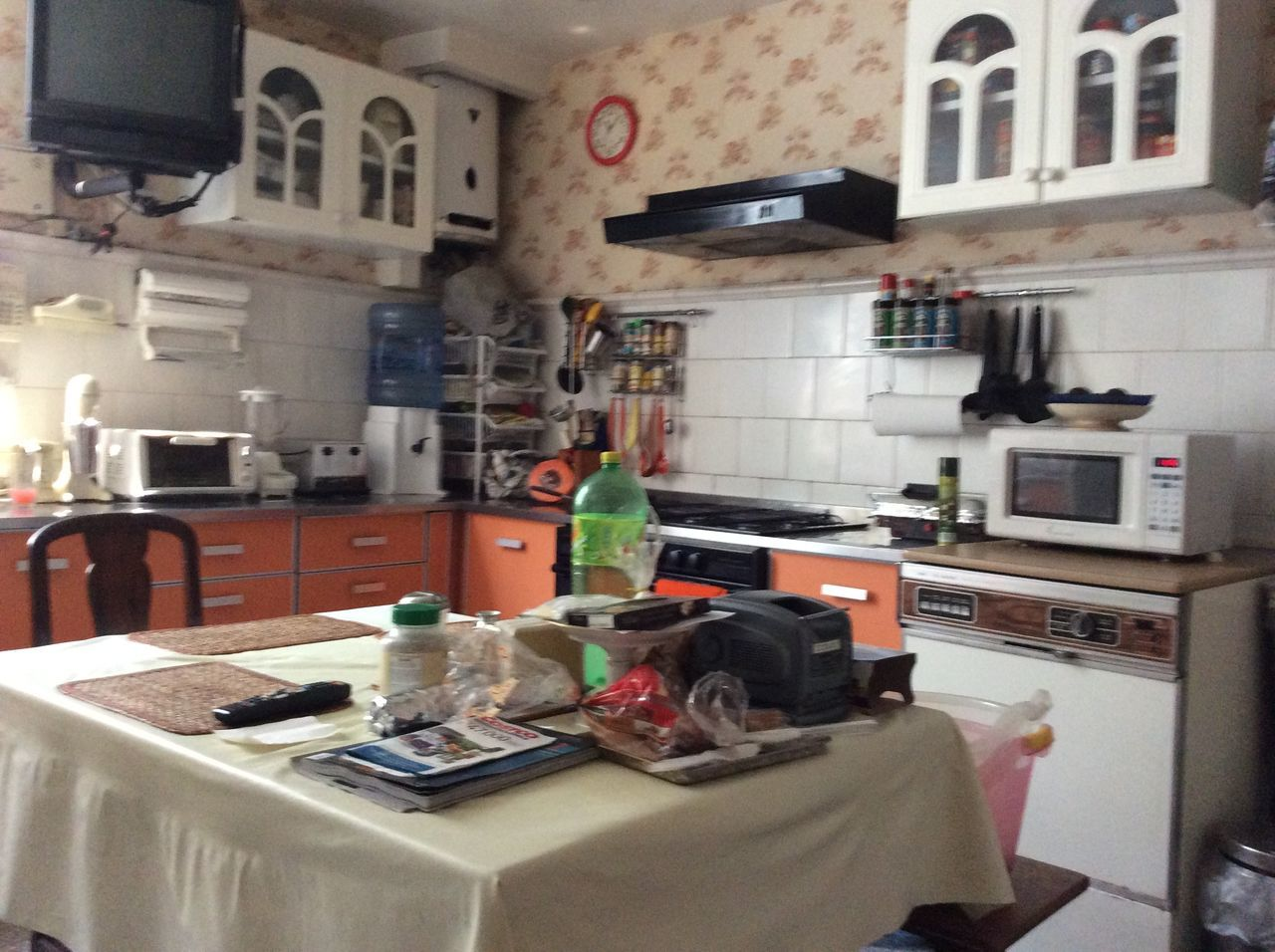 technology, indoors, no people, kitchen, day