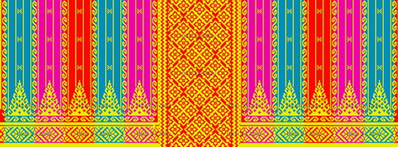 Motif Songket Melayu Riau #Indonesia #Kain #Malay #Melayu #motif #Riau #Songket #Tenun