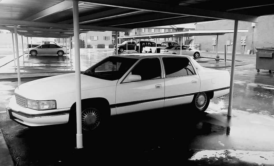 Cadillac Black And White Photography B&w Black And White DeVille My Cadillac