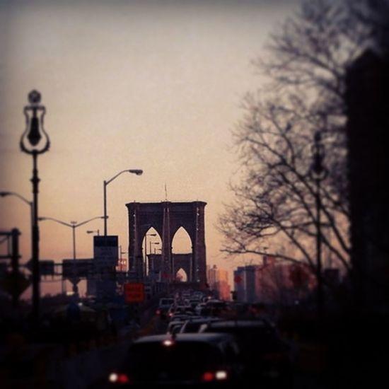 Brooklyn Bridge! Want To Come Back Enjoying Life Sunset