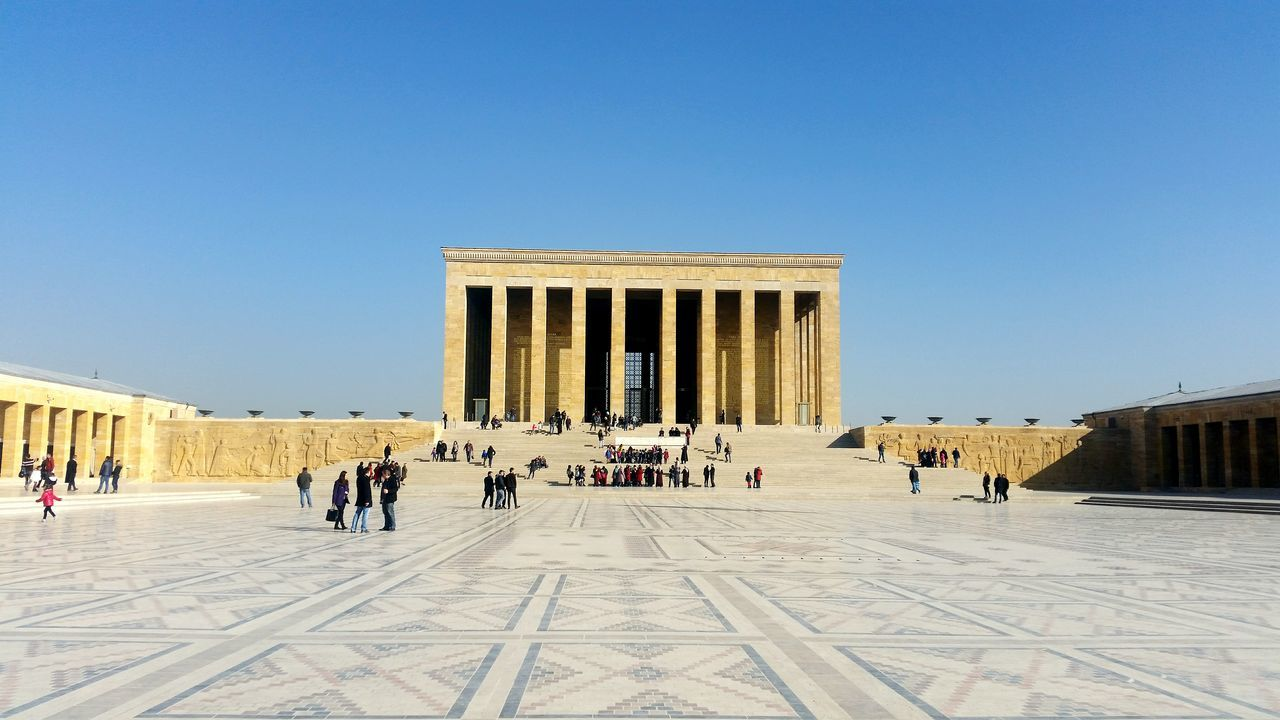 History City Tourist Architecture Large Group Of People Architectural Column Travel Destinations Tourism Monument People Statue Adult Outdoors Adults Only Day Ankara Anıtkabir Museum Likeforlike Photooftheday Follow Nofilter Niceplace