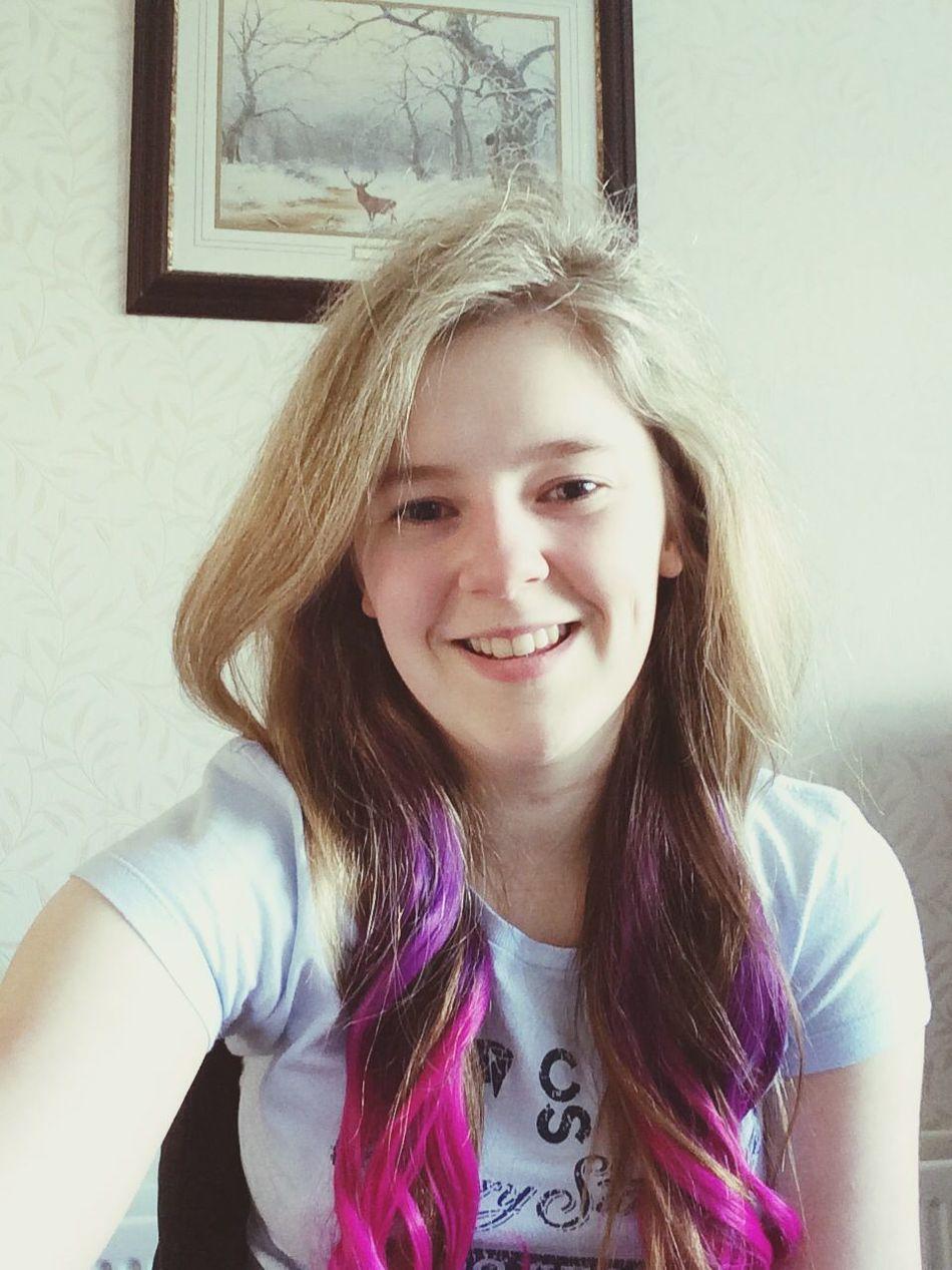 Got extensions :L Ombre Extensions Hair Dip Dye Hair
