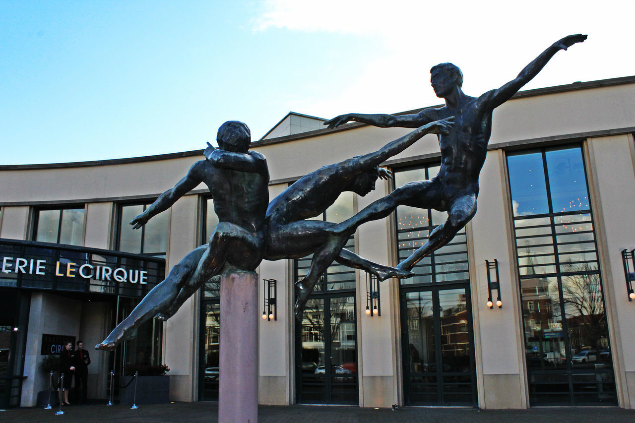 Art ArtWork Balance Ballet Ballet Dancer Close-up Dance Dancing Men Men Metal Metallic Scheveningen  Sculpting A Perfect Body Sculptures Strength Theater