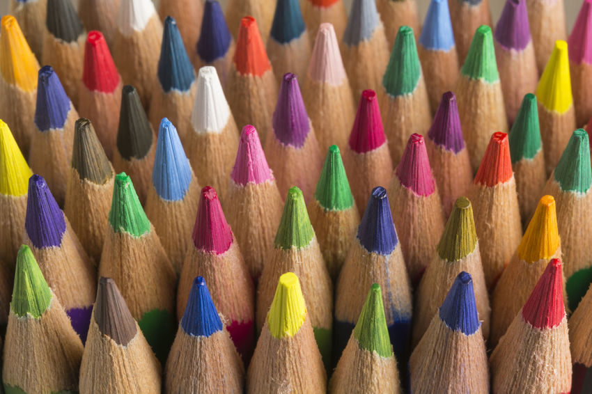 Colored pencils of various colors, close up Colors Crayons Creativity Paint Preschool Set Spectrum Abstract Backgrounds Choice Colored Pencil Colorful Different Education Multi Colored Palette Pastel Pattern School Sharp Sketching Variation Variety Vibrant Color Wooden