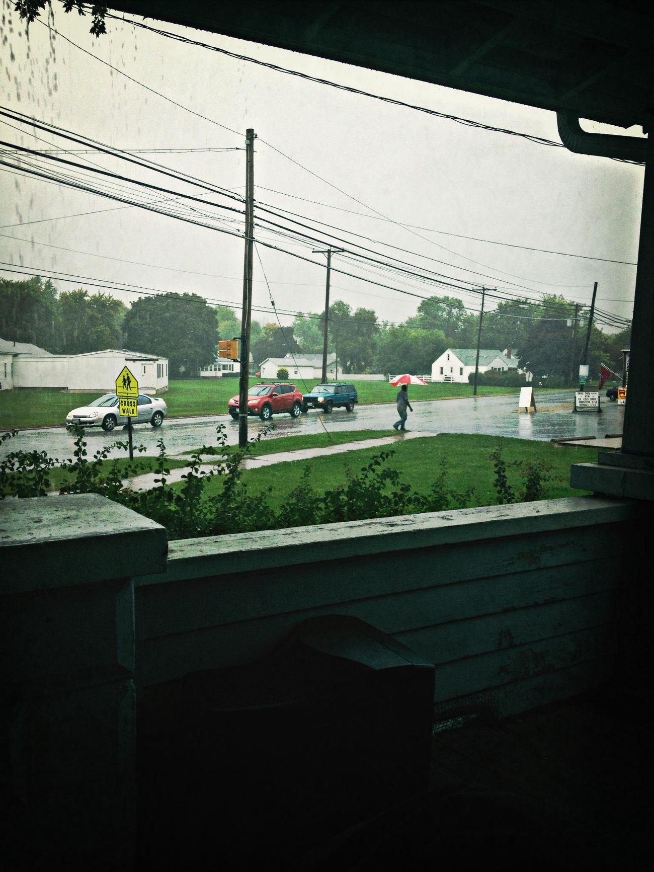 beautiful rainy day.