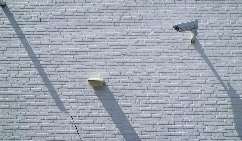 Brick Wall Day White Wall White Background White White Color Cctv Camera Surveillance Surveillance Camera Surveillance State Security Sunny Shadows & Lights Shadows Outdoors Shadow Shadow And Light Shadowplay Shadow Photography Light And Shadow Light And Shadows Privacy Scrutiny Being Watched Privacy Issue