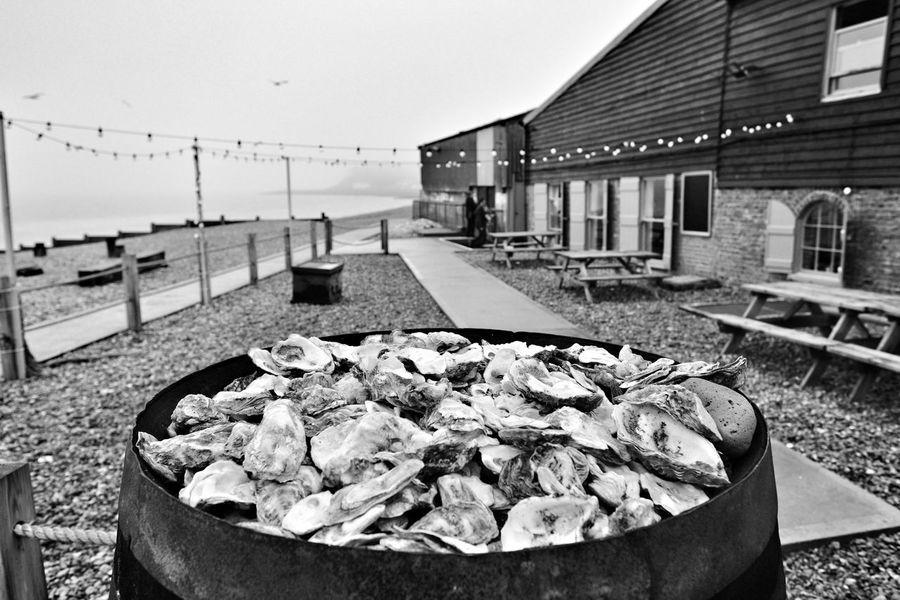 Whitstable Harbor Whitstable Monochrome Photography Blackandwhitephotography Photography X-PRO2 Fujifilm_xseries Xpro2 Fujifilm Kent Beach Sea Oyster Shells