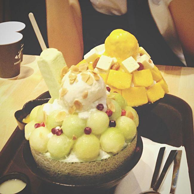 Yummy Bingsu SeoBingGo Favorite Enjoy Eating Desserts Dessert Porn Enjoy Time Meeting Friends Enjoying Life