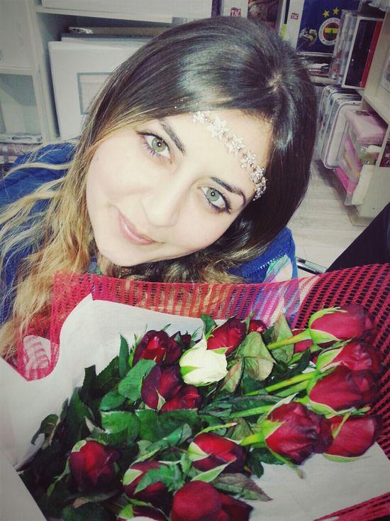 Doğumgünümmm💪 Surpriz Ciceklerim Güllerim