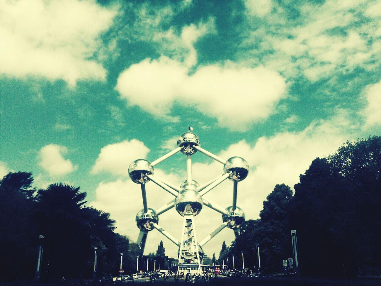 Brüssel Bruexelle Atomium Atomiumbrussels Atomiumbruxelles