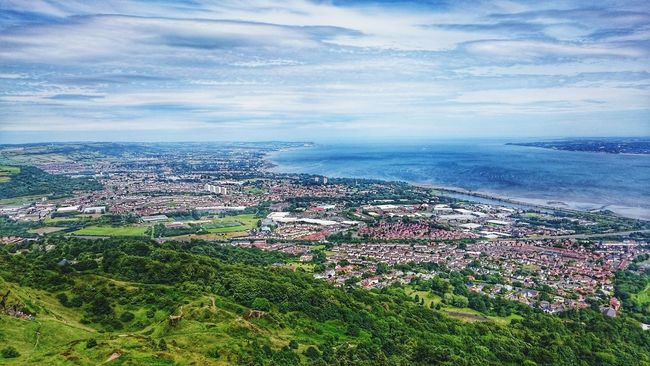View on Belfast form Cavehill ... Nature On The Way Walking Nice Views Goprohero4 Goprooftheday Travel Photography Northern Ireland Uk Travel Mountain Hills Mountain View Mountains And Sky Sky Traveling Nature Trip Hiking Cloud Adventure Club My Point Of View Showcase July