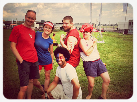 Slowlympics at Tempelhofer Park (Haupteingang Tempelhofer Damm) by @SandyInBerlin
