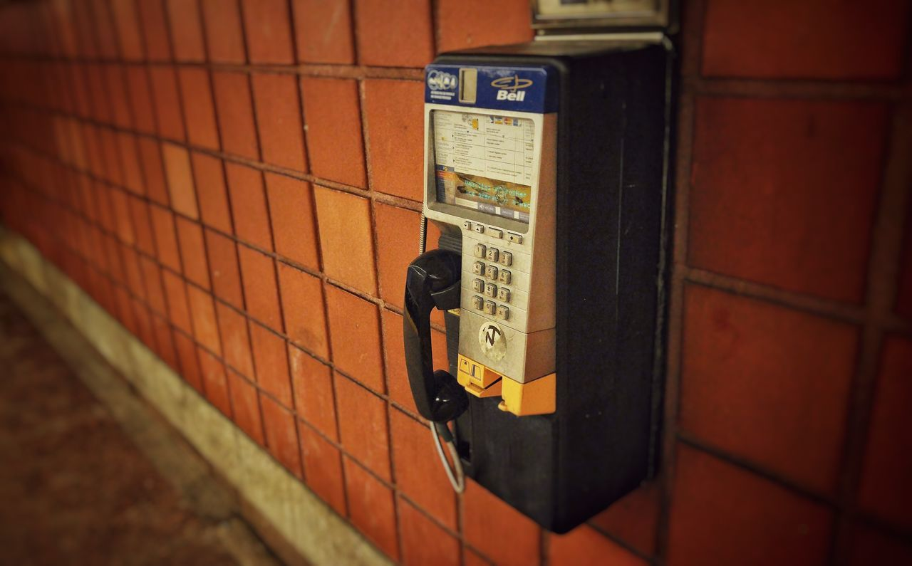 communication, telephone, connection, technology, telephone receiver, pay phone, text, telephone booth, no people, telecommunications equipment, old-fashioned, indoors, day, close-up, wireless technology, architecture