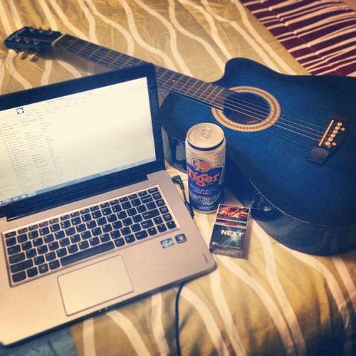 Chill Sunday. TigerBeer Music Guitar Yosi chillsunday ?????