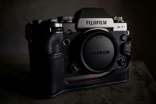 New toy FUJIFILM X-T1 shot with Olympus E-P3