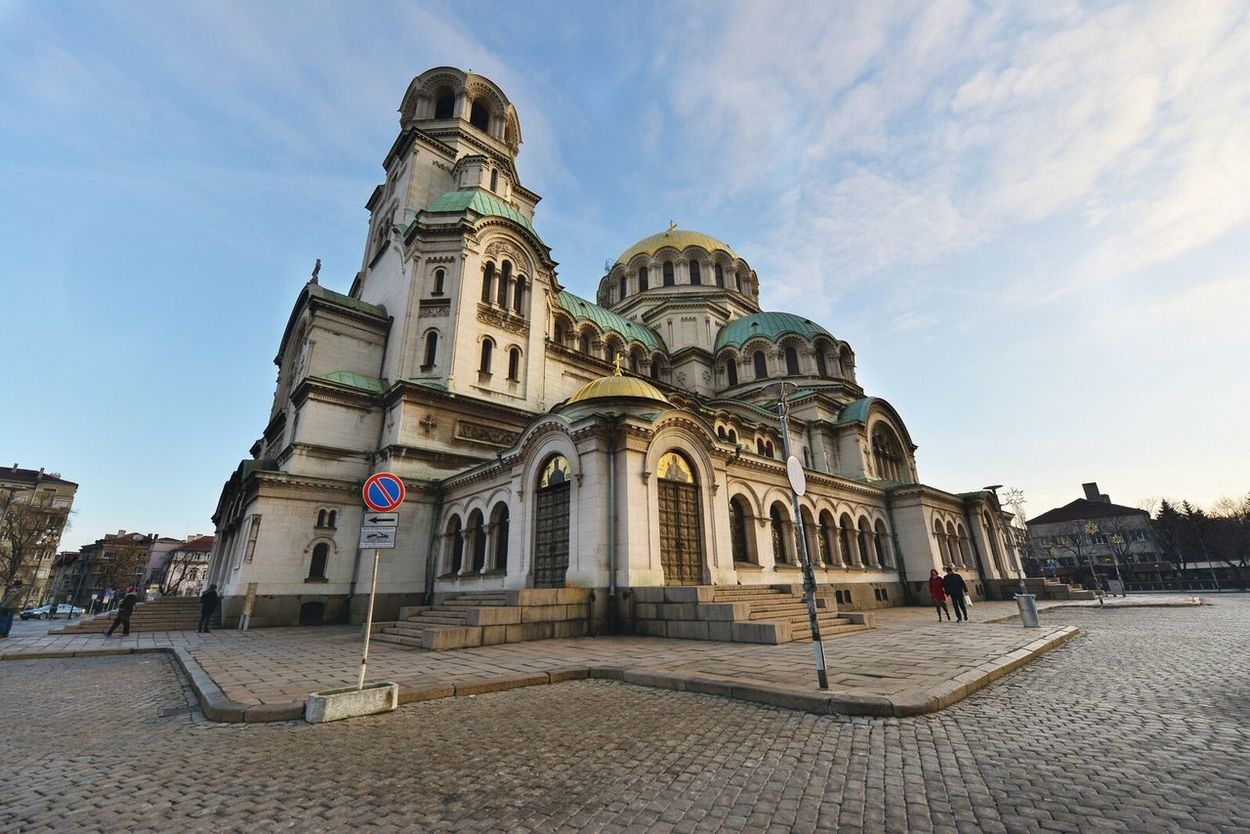 Roman Cristianity Bulgaria Church Orthodox Religion Architecture City Spirituality Place Of Worship Dome Building Exterior Day