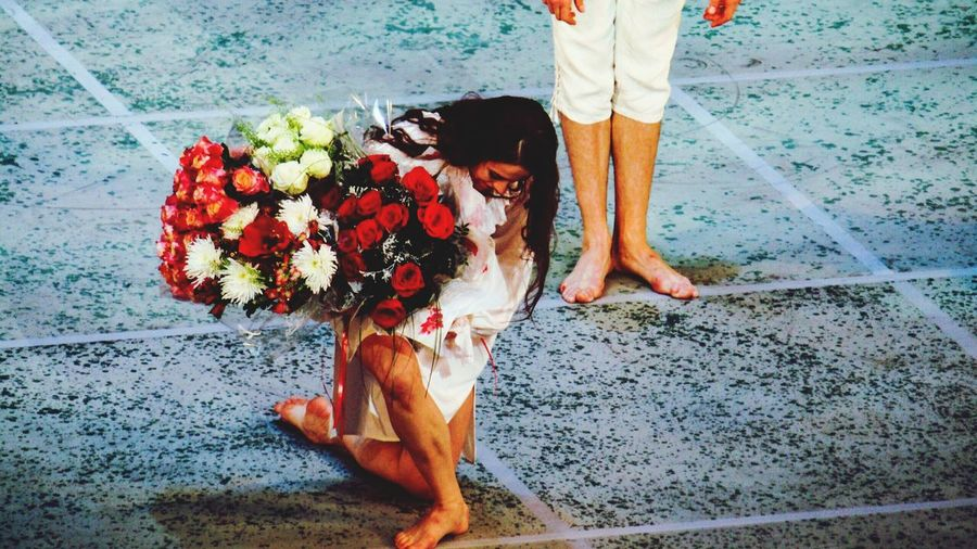 Real People Women Men Санкт-Петербург Magic Moments Saint Petersburg EyeEmNewHere Russia Culture Ballet Dancer Ballerina мариинка новая сцена балет Beautiful Woman парк People
