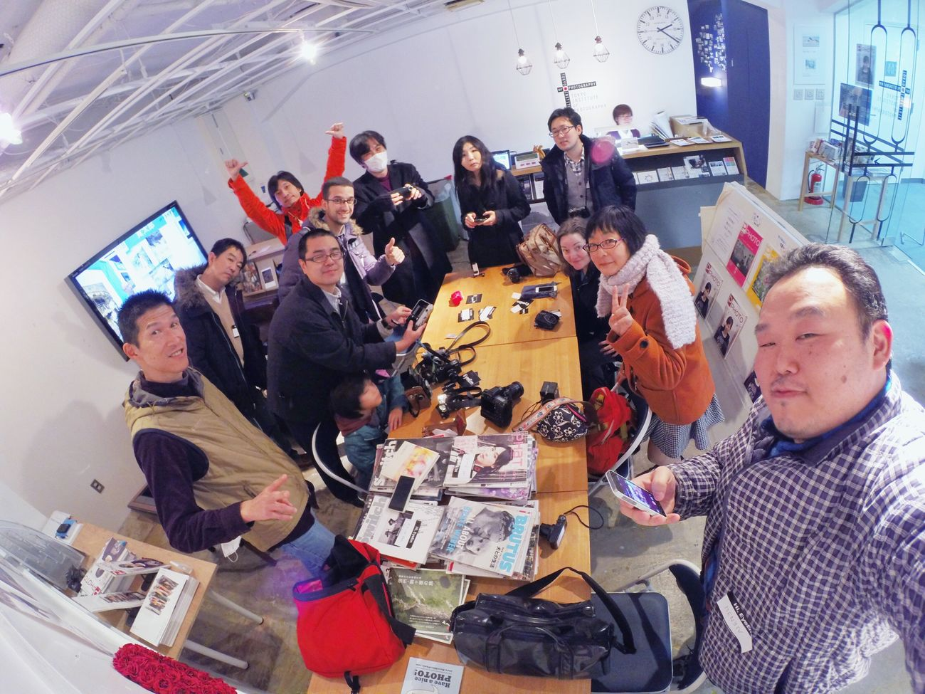 EyeEm Tokyo Meetup 6 happy Gopro GoPrography EyeEM Thanks To EyeEm Project 2014
