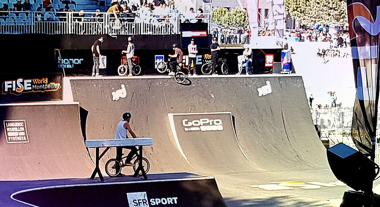 Fise Montpellier Rive Du Lez Skatepark Bmx