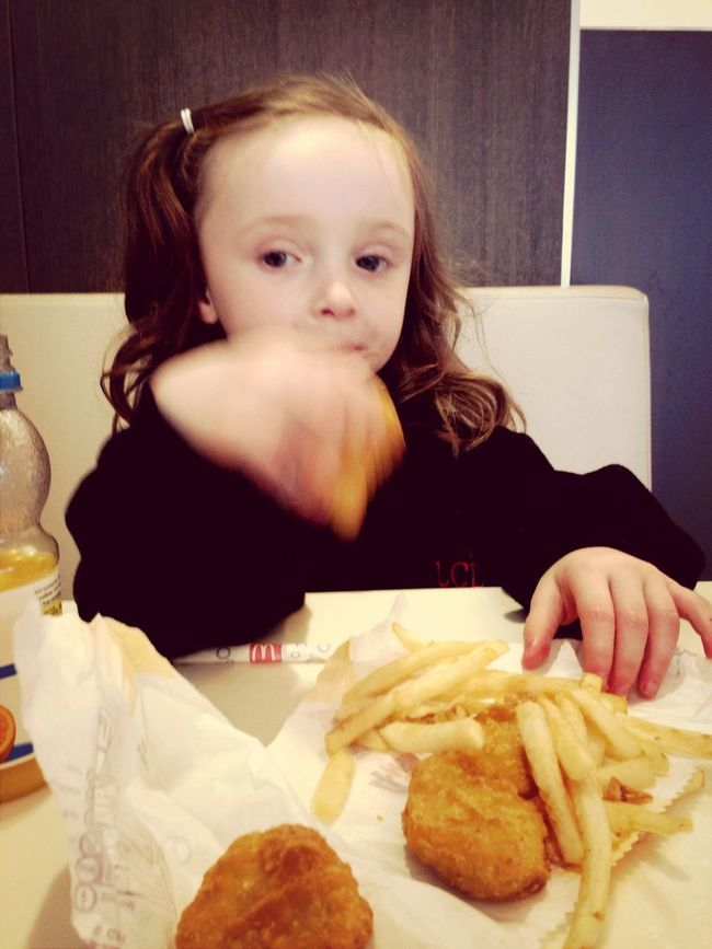 Getting Better Fries Happy :) My Great Niece