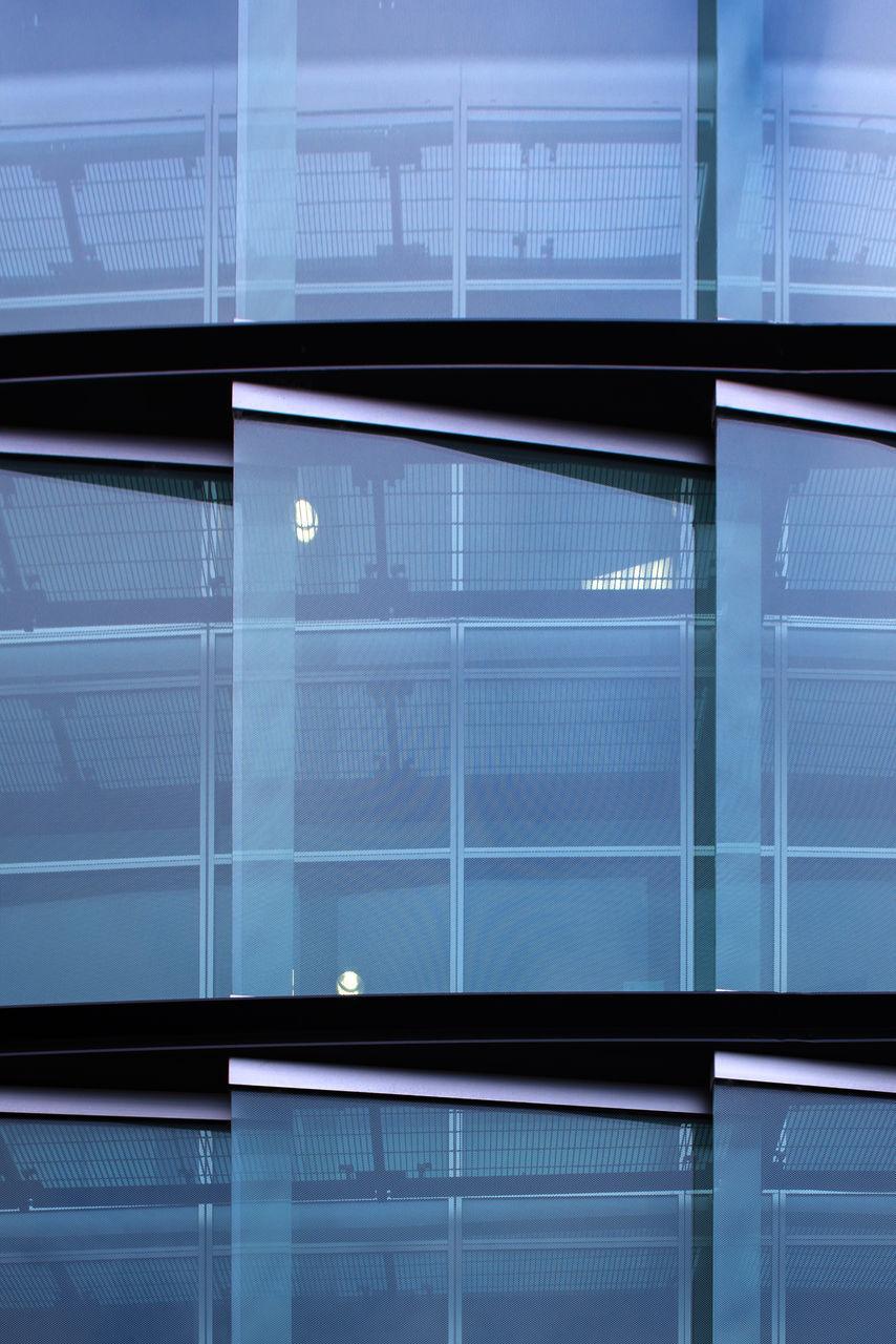 illuminated, indoors, no people, full frame, night, architecture, city