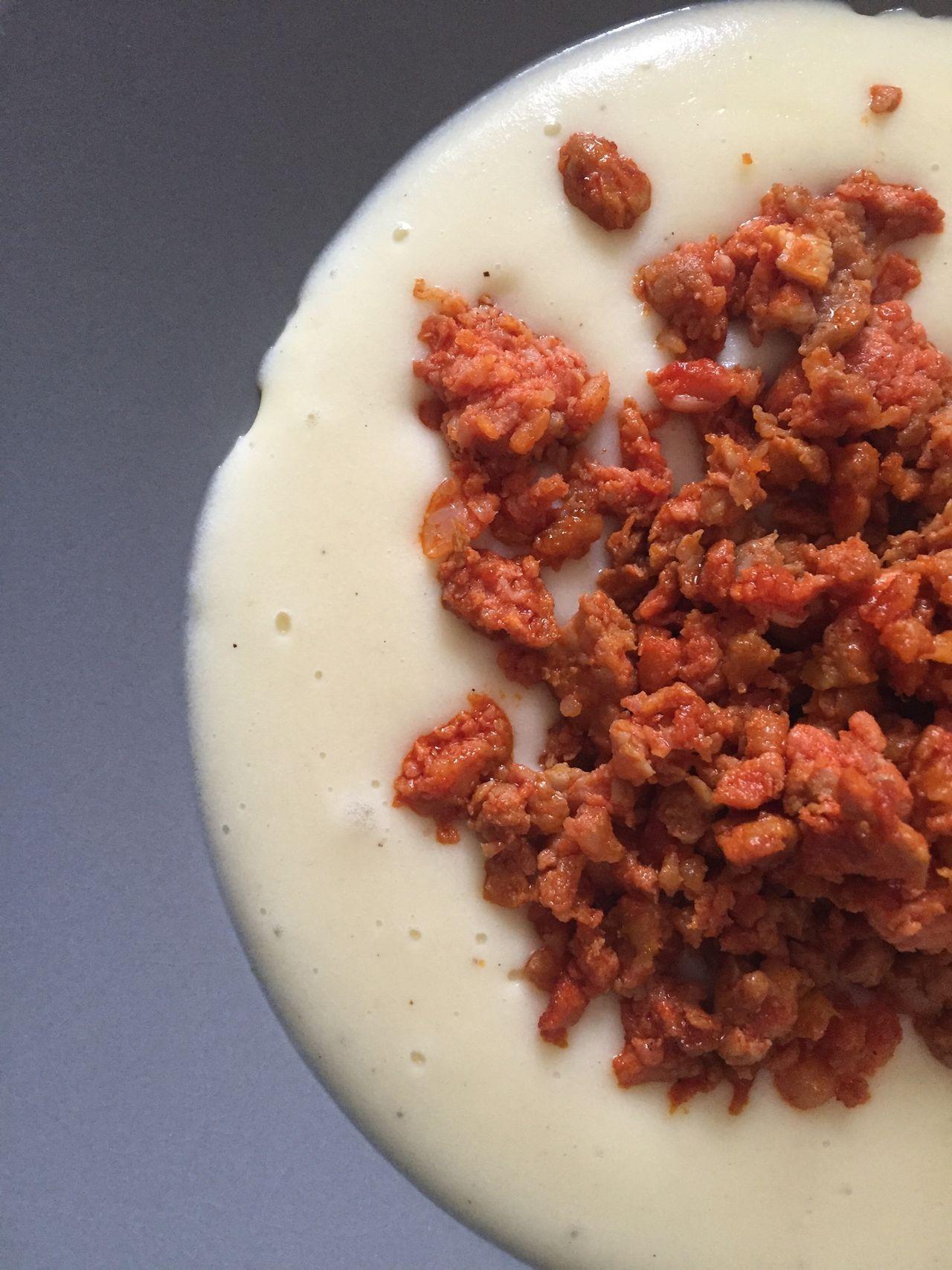 Color Palette Colour Of Life Food Foodporn Foddie Parmentier Chorizos  Picadillo Asturias Dish Restaurant