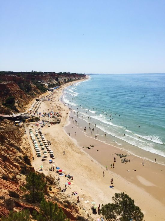 Bom dia Portugal. One of my fav Beach Albufeira Olhos De Agua Faro Goals Traveling