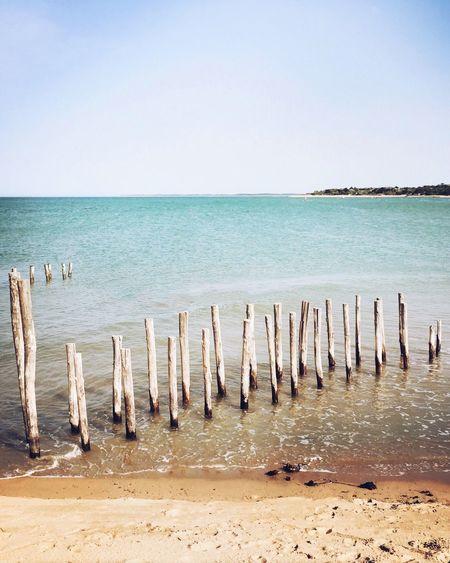 Oleron Beach ☀️ --- Oleron Ile D'Oleron Beach Beachphotography Plage Playa Triptych Beach Life Beach Photography Hipstamatic