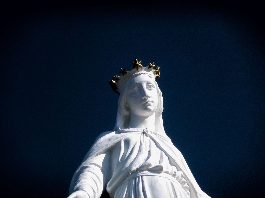 Lebanon Statue Our Lady Of Harissa, Beirut Our Lady Jounieh