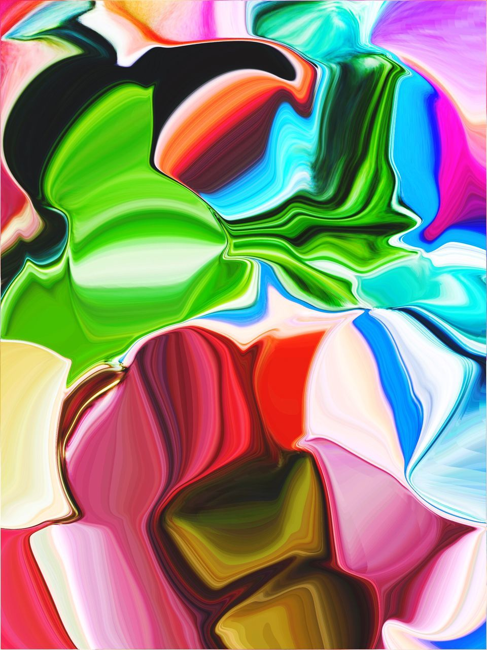 multi colored, backgrounds, full frame, pattern, abstract, variation, green color, no people, close-up, day
