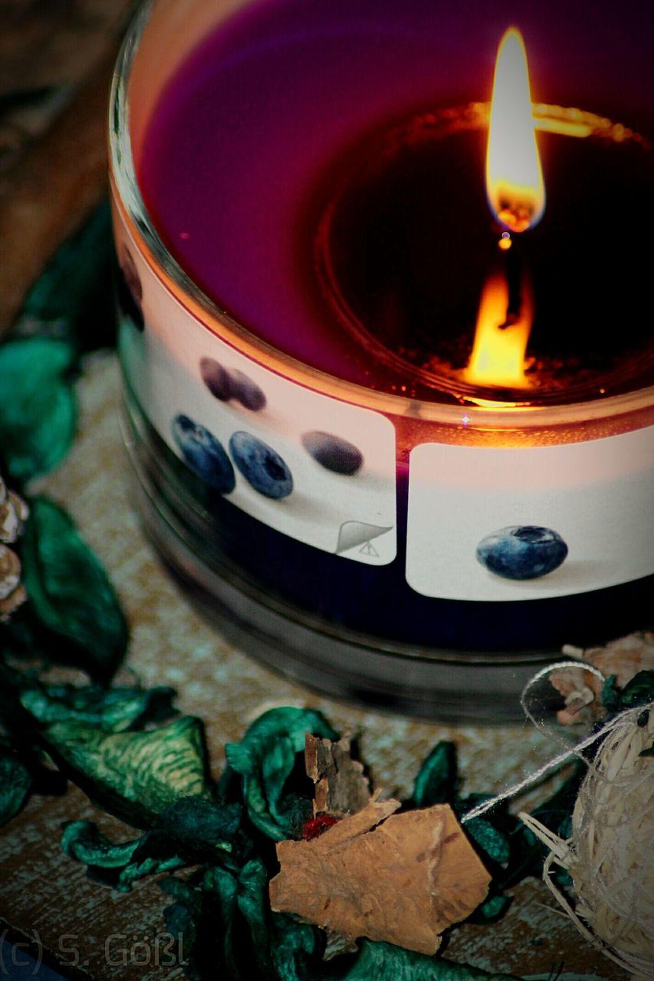 Canon Tamron Candle Candlelight Flame Bolsius Blueberry Decorative Makro Light