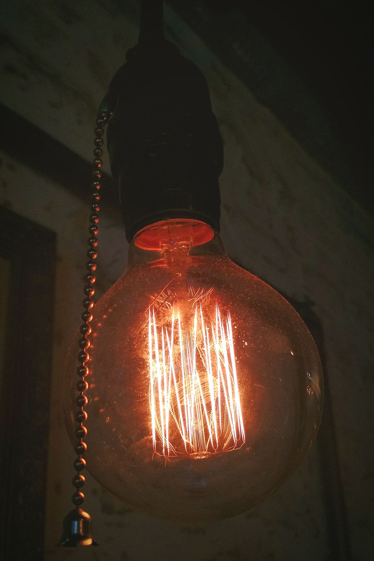 Electricity  Old-fashioned Filament Illuminated Idea Lamp Best Eyeem Shots Vintage Photo Of The Week TBT