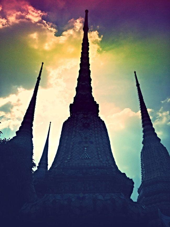 Pagoda Magic Hour Sacred Places