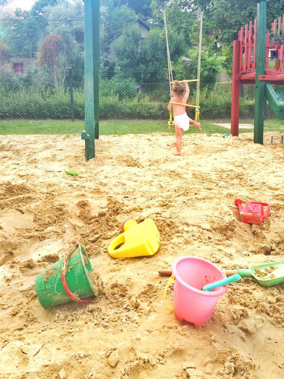 sand, childhood, sand pail and shovel, real people, beach, full length, playing, playground, one person, day, swing, boys, outdoors, child, nature, people