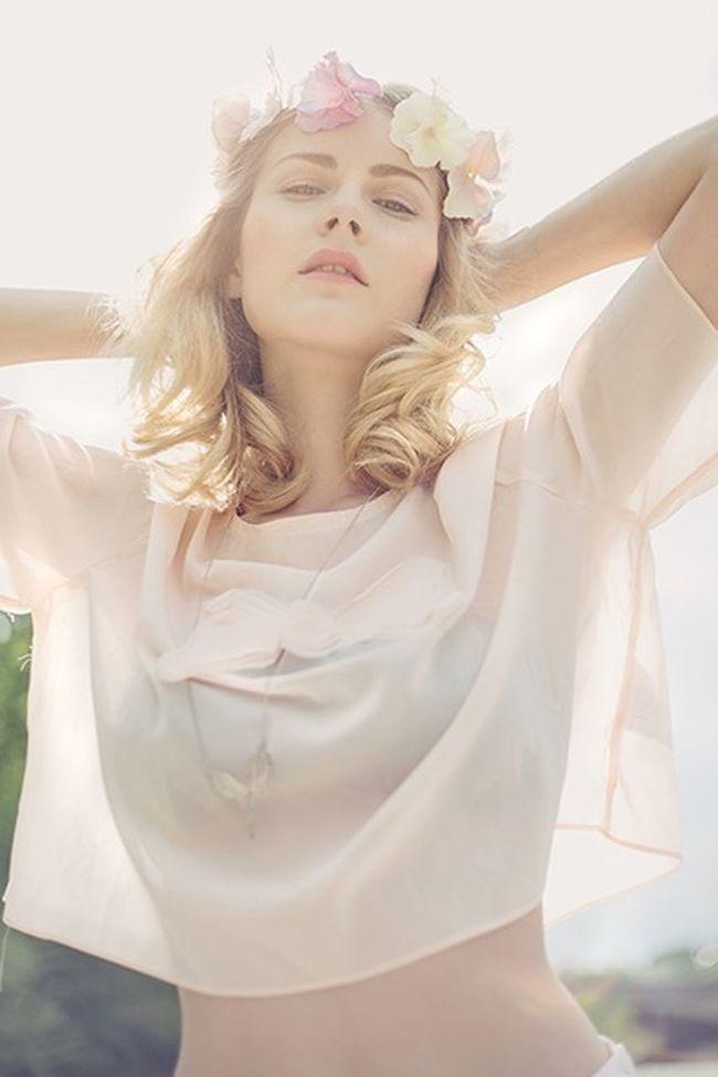 Sun soaking. Eye Em Best Shots Natural Beauty Summer Floral Headpiece