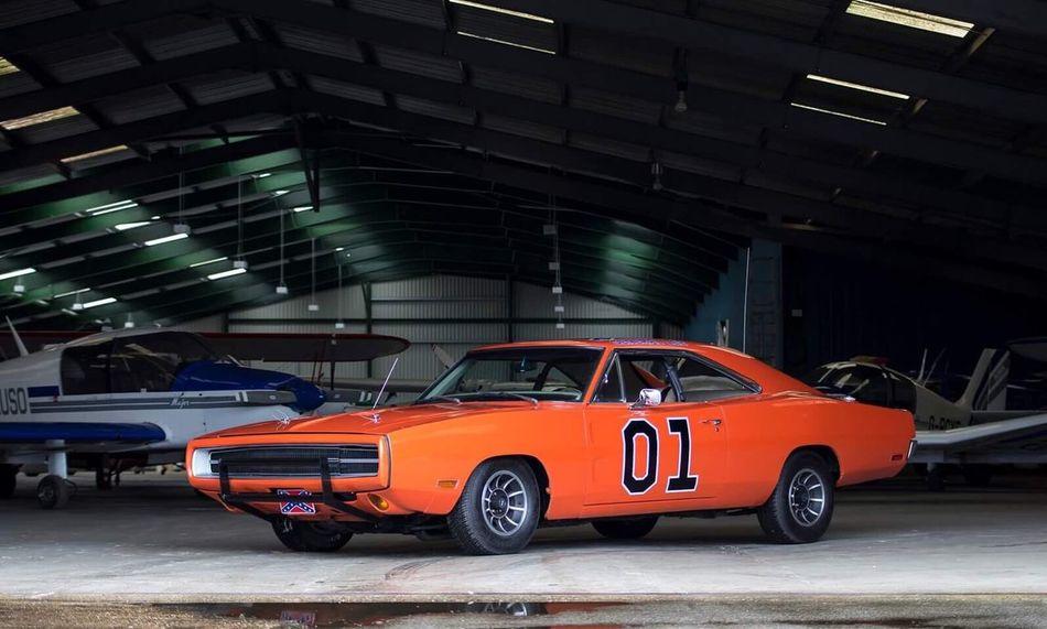 Car Transportation Collector's Car Sports Car Muscle America Dodgecharger Charger Dodge Orange Mode Of Transport Plane