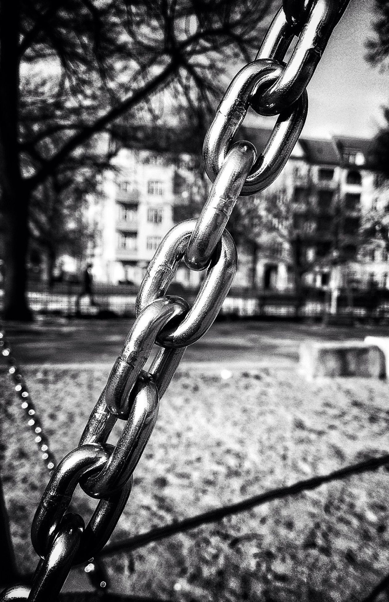 chain, metal, focus on foreground, close-up, rusty, strength, metallic, selective focus, no people, protection, detail, security, hanging, part of, old, safety, protection, destruction, deterioration, obsolete