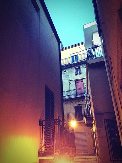Ancient Town Centrostorico Evening Agrigento Lights First Eyeem Photo