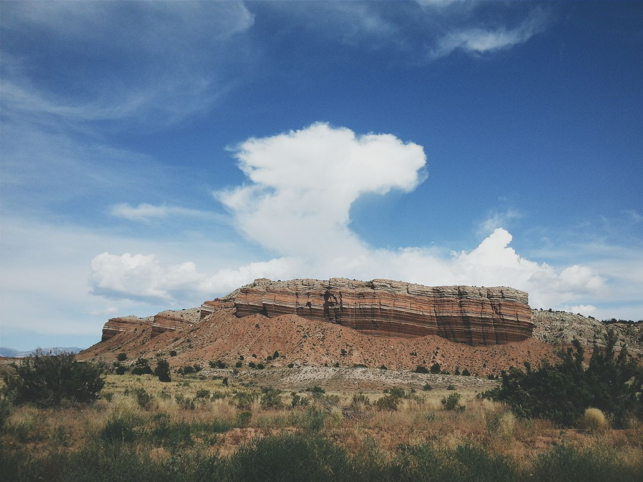 LAYERS. So much history in these rocks. RoadTripxUSA Capitol Reef Utah