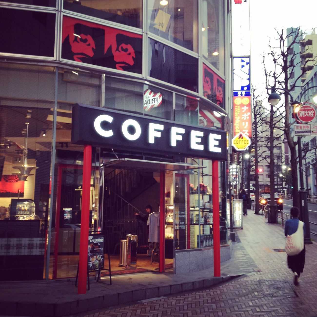 City City Life City Street Coffee Nocoffeenolife Nocoffee Day Close-up Japanese  Shibuya Japan Gorilla Gorillacoffee New York City Brooklyn ゴリラ ゴリラコーヒー 渋谷