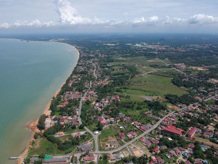 Home sweet home! Drone  Sky Scenics Beauty In Nature Sea Village View