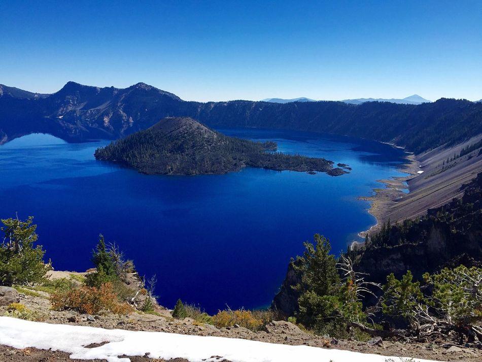 EyeEmNewHere Crater Lake National Park Oregon Deepblue