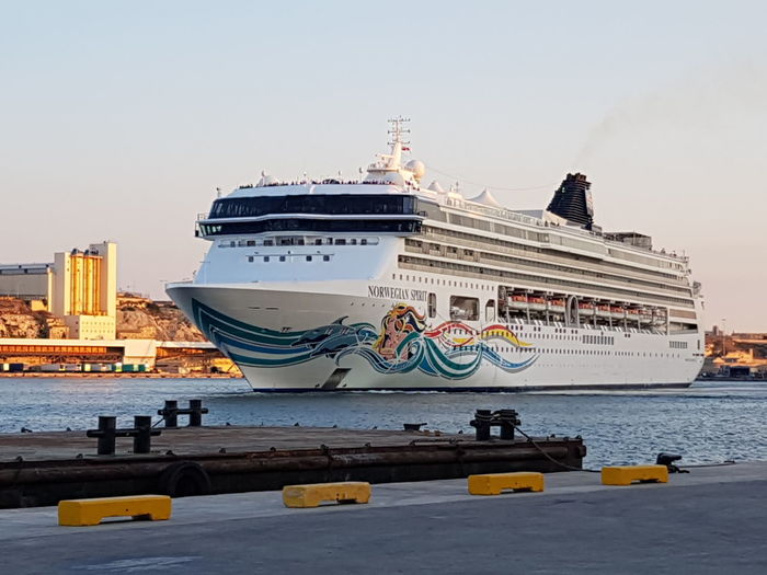Norwegian Spirit EyeEm Selects History Ship Arts Culture And Entertainment Travel Destinations Cruise Ship Royalty Nautical Vessel Sea Outdoors Ferry Urban Skyline Architecture Water Sky No People Cityscape Day City Valetta Grand Harbour Cruise Beautiful