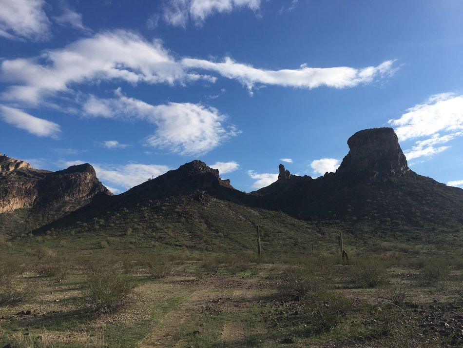 Saddle Mountain near Tonopah, Arizona Mountain Beauty In Nature Sky Nature Physical Geography Tranquility Scenics Landscape Outdoors Day Tranquil Scene No People Desert Arizona Desert Rural Scene Beauty In Nature Arizona