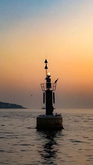 Istanbul Sunset Istanbul Turkey Lighthouse