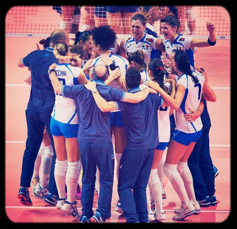 SENIFINALE. grandiose. Teamitaly Italrosa FIVBWomensWCH Italy2014
