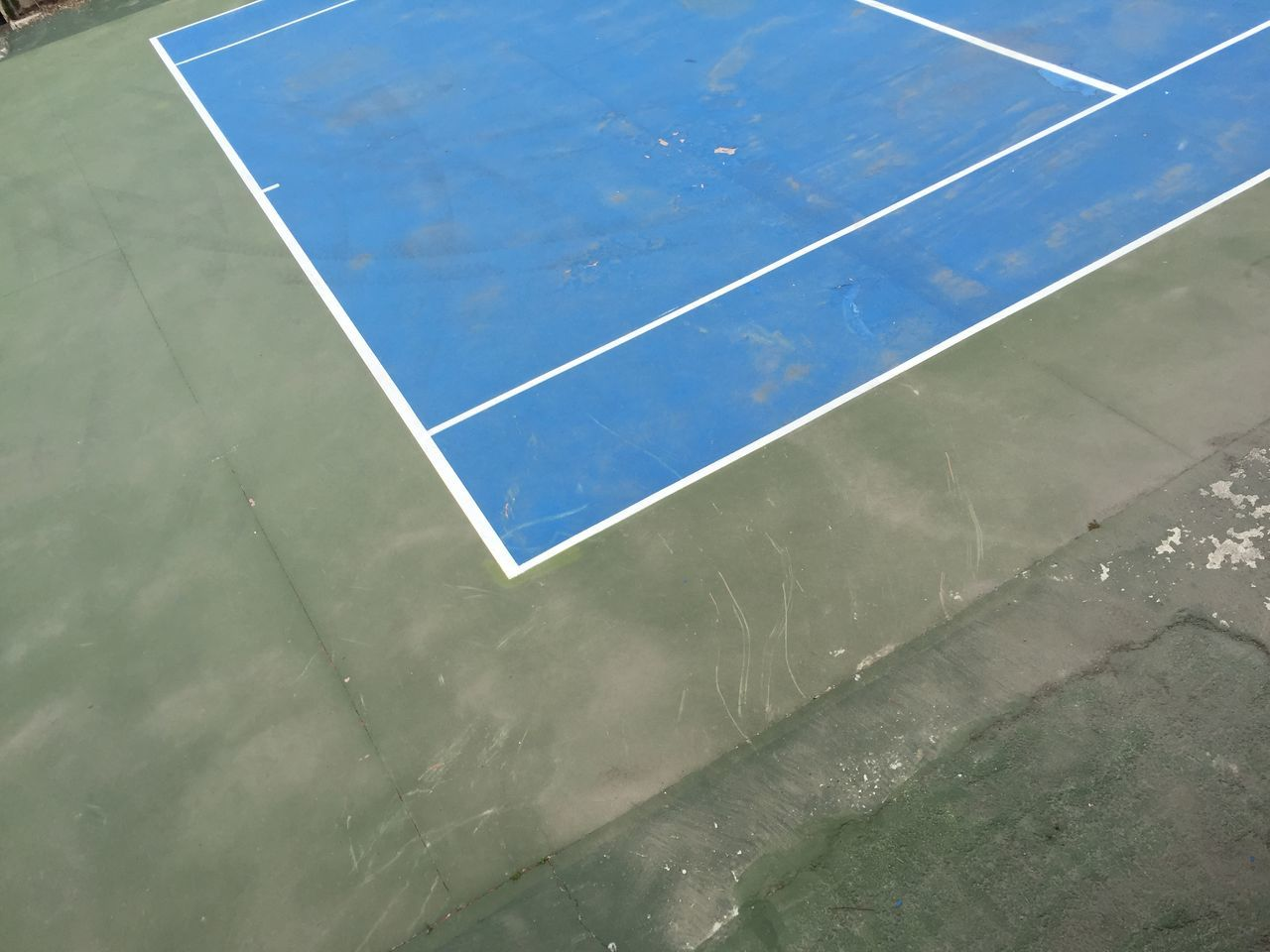 court, sport, high angle view, day, tennis, net - sports equipment, no people, outdoors, basketball - sport, team sport, competitive sport, racket sport, soccer field, close-up